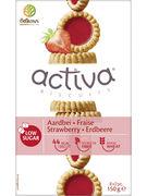 ACTIVA BISCUITS FRAISES S/S 150GR