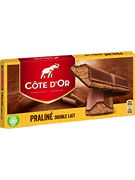 COTE D OR TABLETTES DOUBLE LAIT 200GR