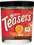 MALTESERS TEASERS SPREAD WITH MALTY CRUNCHY PIECES 200GR