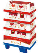 FIN/18 DISPLAY MERCI FINEST SELECTION 250GR 180P