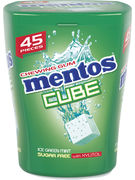 MENTOS GUM CUBE ICE GREENMINT 45P-90GR