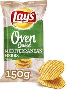 LAYS OVEN MEDITERRANEAN HERBS 150GR