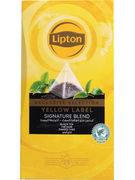 LIPTON EXCLUSIVE SELECTION YELLOW LABEL 25S