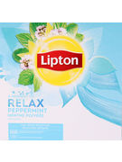 LIPTON FEEL GOOD SELECTION INFUS PEP MENTHE PRO 100S 160GR
