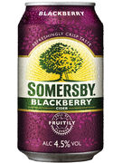 SOMERSBY BLACKBERRY CIDRE CANS 33CL 4,5°