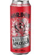 GORDON RED FRUIT XPLOSION CANS 11° 50CL