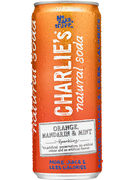 CHARLIE S ORANGE MANDARIN & MINT CANS 33CL
