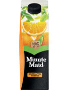 MINUTE MAID ORANGE SUGAR REDUCED 1L GABLE TOP