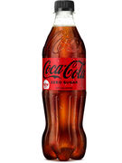 COCA COLA COKE ZERO PET 50CL