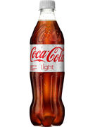 COCA COLA LIGHT PET 50CL