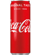 COCA COLA REGULAR CANS 25CL