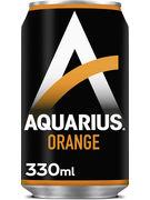 AQUARIUS ORANGE CANS 33CL