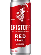 ERISTOFF RED FLASH 5° CANS 25CL