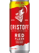 ERISTOFF RED FLASH 5° CANS 33CL