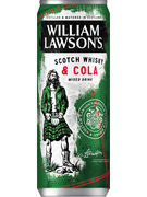 WILLIAM LAWSON WHISKY COLA 5° CANS 25CL