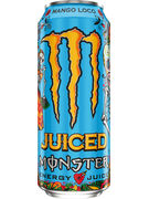 MONSTER ENERGY JUICE MANGO LOCO CANS 50CL