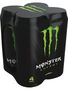 MONSTER ENERGY CANS 50CL 4-PACK