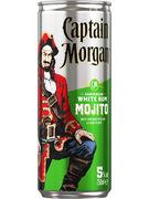 CAPTAIN MORGAN & MOJITO 5° CANS 25CL