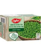 IGLO PETITS POIS EXTRA FINS FIELD FRESH 400GR
