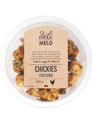CHICKIES TOSCANA 130GR