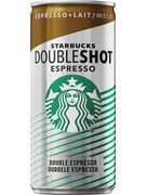 STARBUCKS DOUBLE SHOT ESPRESSO CAN 200ML