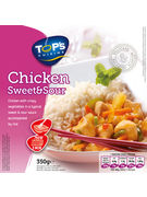TOPS CHICKEN SWEET & SOUR 350GR POULET AIGRE-DOUX   (OV 6)