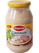 MANNA CARBONARA SAUCES 500GR (OV 6)