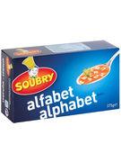 SOUBRY ALPHABETS 375GR (OV 12)