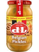 D+L SAUCE BELGIAN PICKLES VERRE 300ML   (OV 12)
