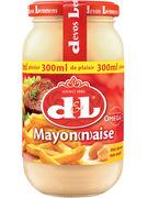 D+L MAYONNAISE OEUFS VERRE 300ML  (OV 12)