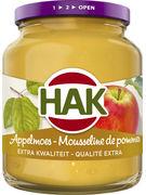HAK MOUSSELINE DE POMMES 370ML- 355GR (OV 12)