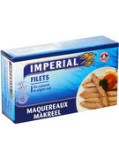 FILET MAQUEREAUX AU NATUREL 125GR  (OV 12)