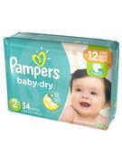 PAMPERS BABY DRY 34P N°4 (OV 3)