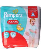 PAMPERS BABY DRY  PANTS 24P N°4 (OV 4)