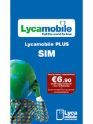 LYCAMOBILE SIM PLUS PACK   6,90€
