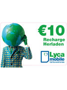 LYCAMOBILE RECHARGE 10€