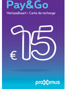 PAY&GO RECHARGE 15€