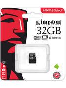 KINGSTON MICRO SDHC 32GB CLASS 4 NO ADAPTER