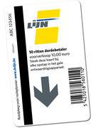 DE LIJN CARTE 10 VOYAGES DBS 10€