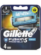 GILLETTE FUSION PROSHIELD  CHILL 4 LAMES