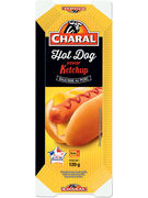 CHARAL SNACK HOT DOG KETCHUP 120GR (OV 6)